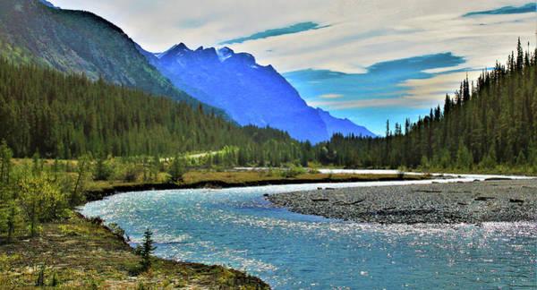 Photograph - Canadian Rockies In Jasper National Park Alberta Canada  by Ola Allen