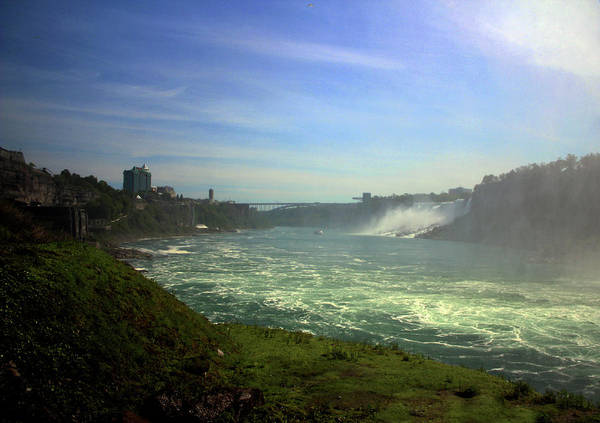Photograph - Canadian Side Of The Falls - 2 by Doc Braham