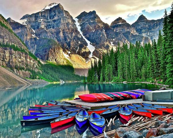 Wall Art - Photograph - Canadian Vacation by Frozen in Time Fine Art Photography