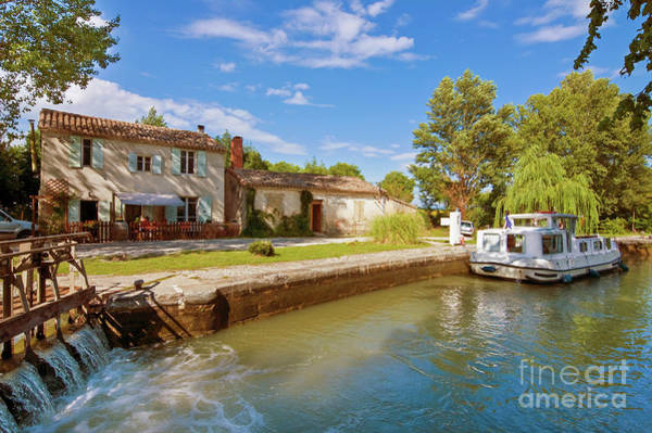 Wall Art - Photograph - Canal Du Midi by Delphimages Photo Creations
