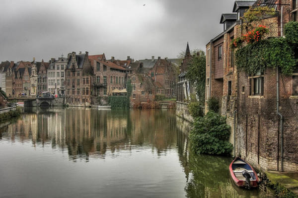 Wall Art - Photograph - Canal Ghent by All Rights Reserved - Copyright