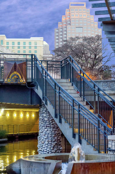 Photograph - Riverwalk Stairs by Erich Grant