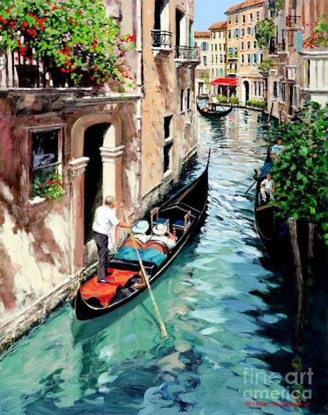 Wall Art - Painting - Canale Interno  Original Sold by Michael Swanson
