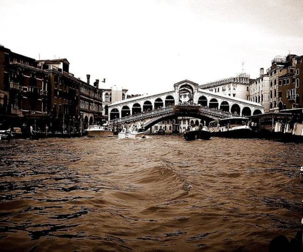 Photograph - Canals Of Venice by Chance Kafka