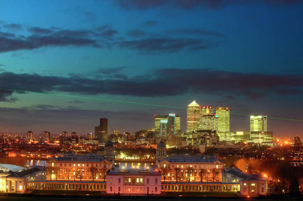Canary Wharf Photograph - Canary Wharf With Queens House And Old by Lonely Planet