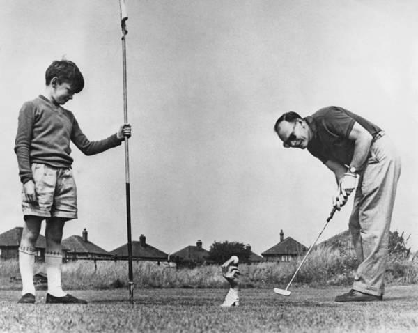 Golf Photograph - Candid Camera Golf Stunt by Express