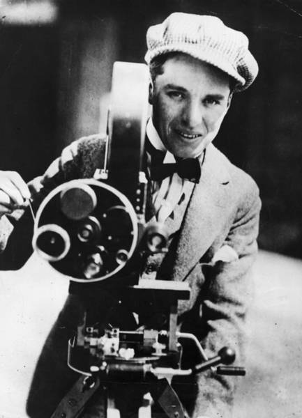 Charlie Photograph - Candid Camera by Keystone