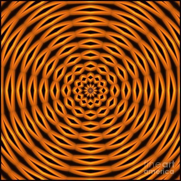 Digital Art - Candied Caramel Rings by Doug Morgan