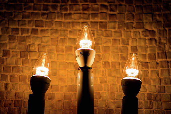 Photograph - Candle Lights by Don Johnson