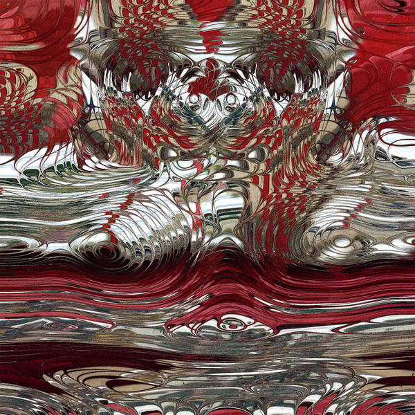 Wall Art - Painting - Candy Apple Red And Chrome Reflections by Jack Zulli
