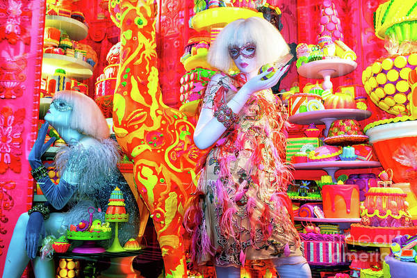 Photograph - Candy Dreams At Bergdorf Goodman In New York City by John Rizzuto