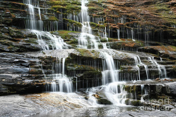 Photograph - Cane Creek Cascades 3 by Phil Perkins