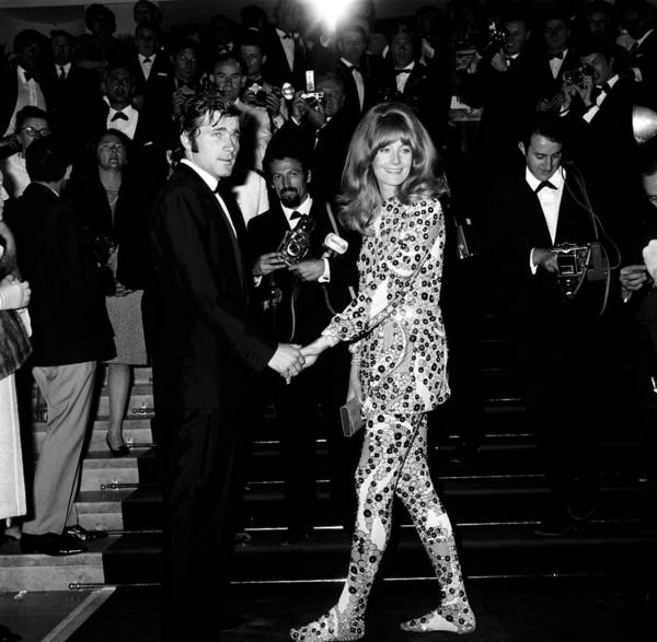 Cannes Photograph - Cannes Film Festival In 1967 by Gilbert Tourte