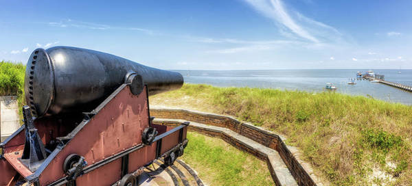 Photograph - Cannon Atop Fort Massachusetts by Susan Rissi Tregoning