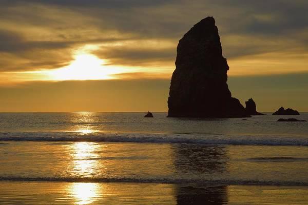 Photograph - Cannon Beach November Evening by Todd Kreuter