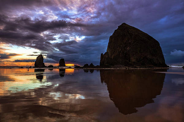 Wall Art - Photograph - Cannon Beach Reflections by Andrew Soundarajan