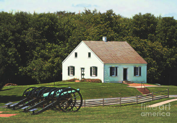 Photograph - Cannons At Dunker Church by Patti Whitten