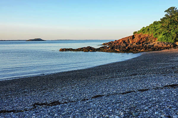 Photograph - Canoe Beach Nahant Ma Lodge Park Egg Rock by Toby McGuire