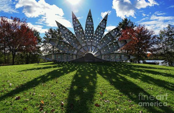Photograph - Canoe Fan Sculpture by Rachel Cohen