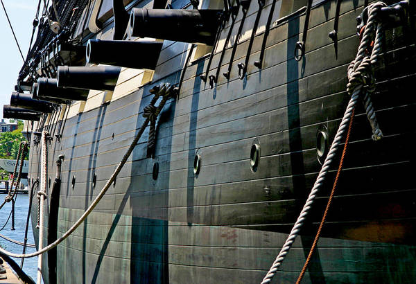 Photograph - Canons And Portholes by Anthony Jones