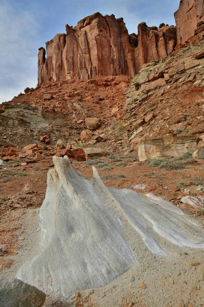 Photograph - Canyonlands Mineral Bottom by Ray Mathis