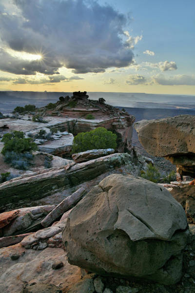 Photograph - Canyonlands National Park Sunset by Ray Mathis