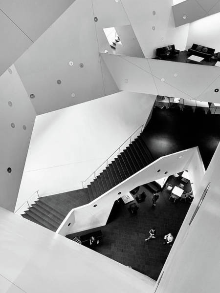 Denver Art Museum Photograph - Canyons Of The Denver Art Museum by Marilyn Hunt