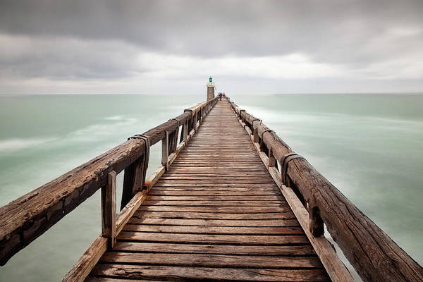 Jetty Photograph - Capbreton Jetty, France by Billy Currie Photography