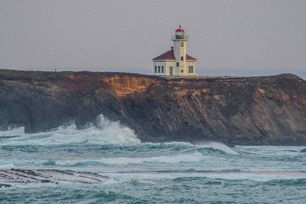 Photograph - Cape Arago Lighthouse by Matthew Irvin