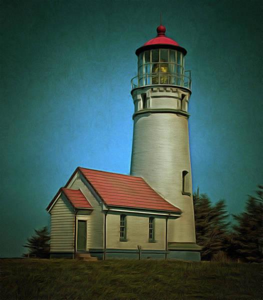 Photograph - Cape Blanco Light by Thom Zehrfeld