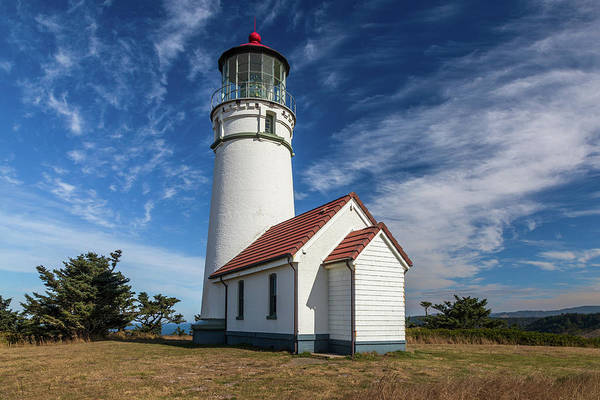 Photograph - Cape Blanco Lighthouse by Peter Tellone