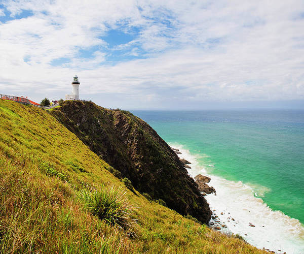 New South Wales Photograph - Cape Byron Lighthouse, New South Wales by Matthew Williams-ellis / Robertharding