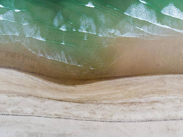 Photograph - Cape Cod Beach Abstract by Eric Full