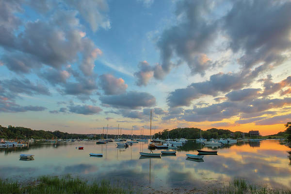 Photograph - Cape Cod Quissett Harbor by Juergen Roth