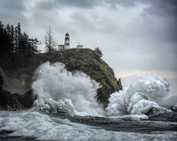 Cape Disappointment Chaos Art Print