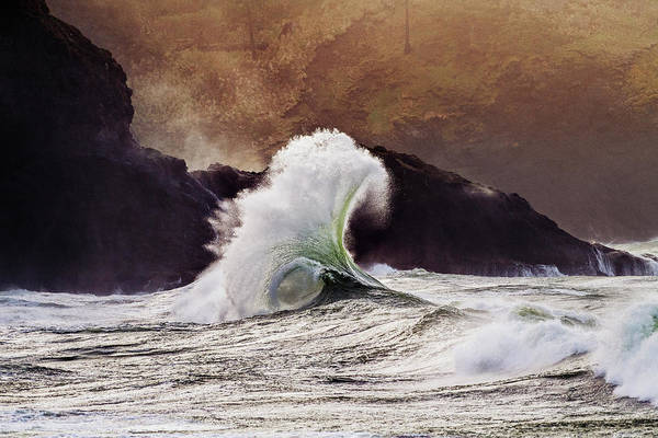 Wall Art - Photograph - Cape Disappointment Near The Mouth by Panoramic Images