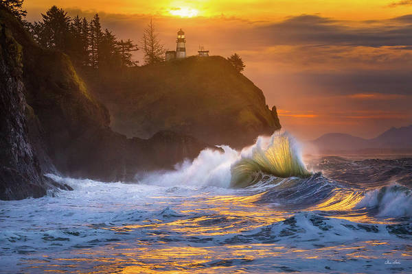 Photograph - Cape Disappointment Sunrise by Chris Steele