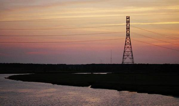 Photograph - Cape Fear River Evening by Cynthia Guinn