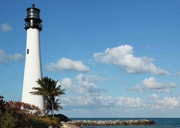 Key Biscayne Photograph - Cape Florida Lighthouse by S. Greg Panosian