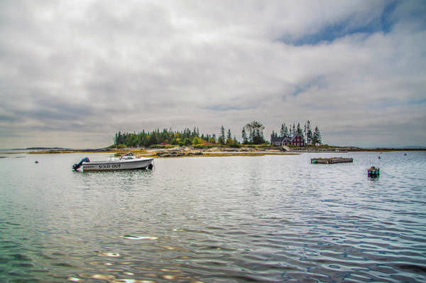 Photograph - Cape Island - Southport Maine by Bill Cannon