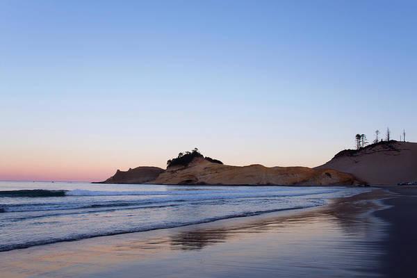 Photograph - Cape Kiwanda Oregon Sunrise 101618 by Rospotte Photography