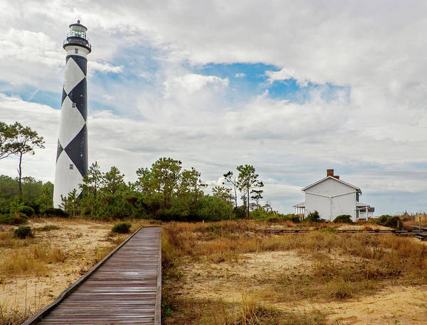 Photograph - Cape Lookout Lighthouse No. 2 by Matthew Irvin
