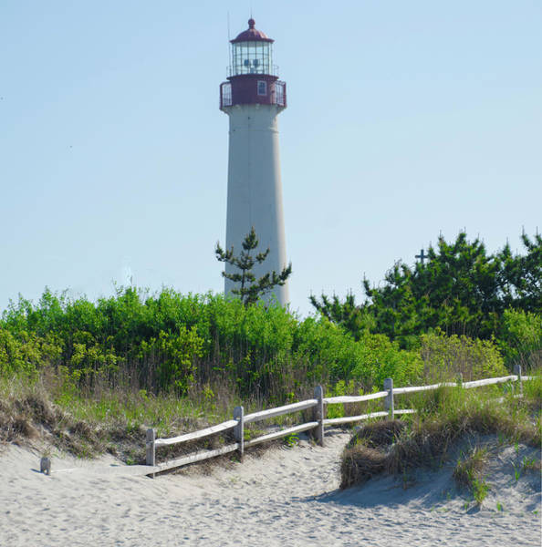 Photograph - Cape May Lighthouse In May by Bill Cannon