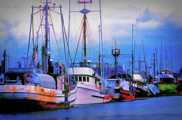 Wall Art - Photograph - Cape May Work Boats by Mike Flynn