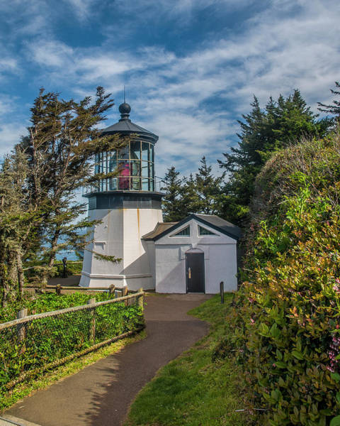 Photograph - Cape Mereas Lighthouse by Matthew Irvin