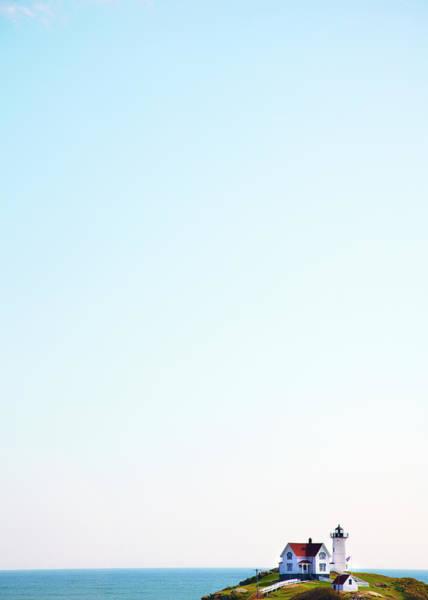 Wall Art - Photograph - Cape Neddick Nubble Lighthouse by Thomas Northcut