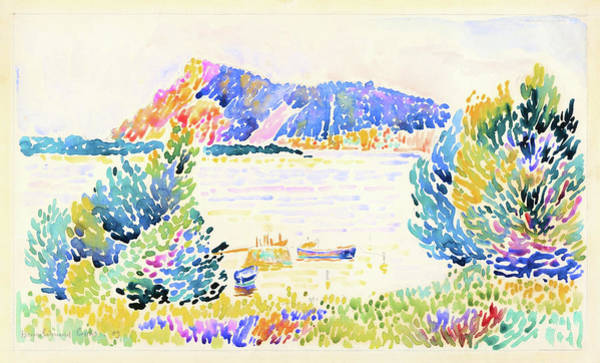 Wall Art - Painting - Cape Negro - Digital Remastered Edition by Henri Edmond Cross