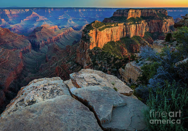 Wall Art - Photograph - Cape Royal Twilight by Inge Johnsson