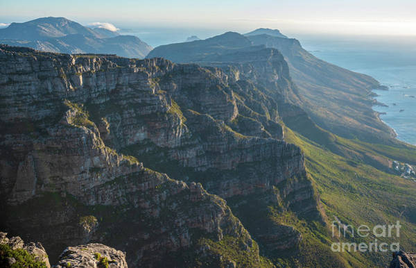 Table Mountain Wall Art - Photograph - Cape Town 12 Apostles Dusk by Mike Reid