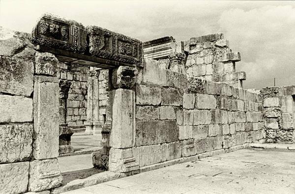 Photograph - Capernaum Israel by Rick Veldman